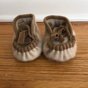 Other - Cashmere baby slipper/booties
